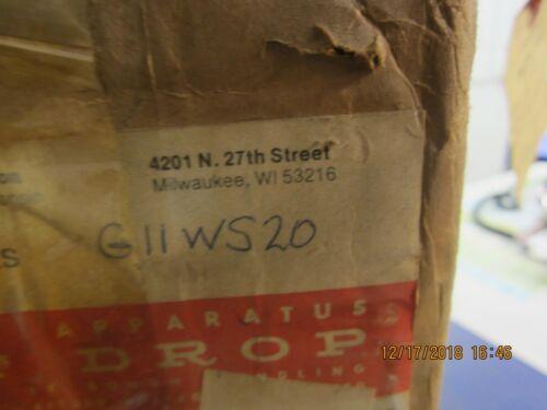 CUTLER HAMMER    G11WS20    RESISTOR