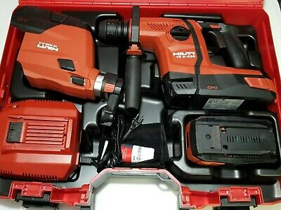 Hilti Te 6-a36 Rotary Hammer Drill Case Complete Set Brand New.