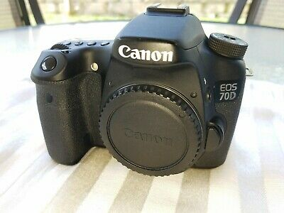 Canon 70d body with battery grip.