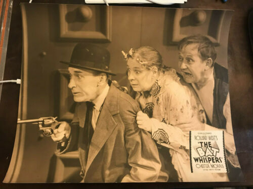 Bat Whispers 1930 United Artists 14x17 crime JLC  Spencer Charters Maude Eburne