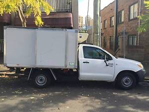 Refrigerated Toyota Hilux Ute Bondi Junction Eastern Suburbs Preview