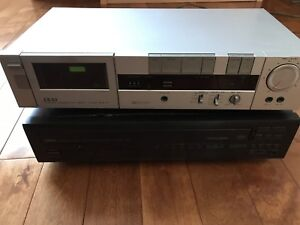 Cassette deck and Tapes Yamaha CD Changer