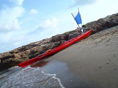 Vela de Kayak delta 1,5 m 2