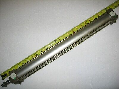 Ckd Double Acting Air Pneumatic Cylinder 450mm 17.71 Stroke 40mm 1.57 Bore