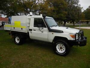 2012 TOYOTA LANDCRUISER VDJ79R V8 DSL TURBO TRAY TOP  ( AI COND ) Bayswater Bayswater Area Preview
