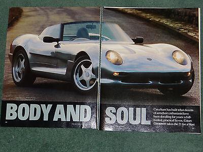 Caterham 21 (CAR) magazine article - February 1995