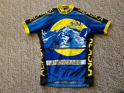 Verge Men/'s 2XL V Gear Goya Short Sleeve Cycling Jersey Blue//Yellow
