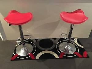 BAR STOOLS KITCHEN BREAKFAST BAR STOOLS 360 SWIVEL UP DOWN ADJUST Wollongong Wollongong Area Preview