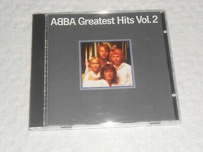 CD- ABBA , GREATEST HITS VOL.2 / tested  MADE  IN WEST GERMANY  16009-2