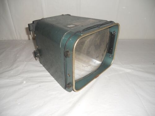 VINTAGE EDNAUTE PANORAMIC MAGNIFYING OSCILLOSCOPE VIEWER MAGNIFYER TOOL