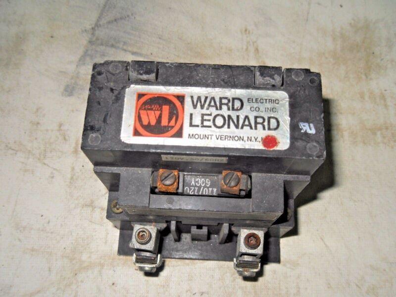 (Q7-5) 1 WARD LEONARD 78091-50R CONTACTOR