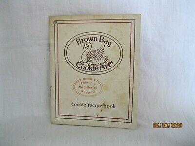 Vintage Brown Bag Cookie Art cookie recipe book