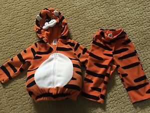 Kids size 18 months tiger costume