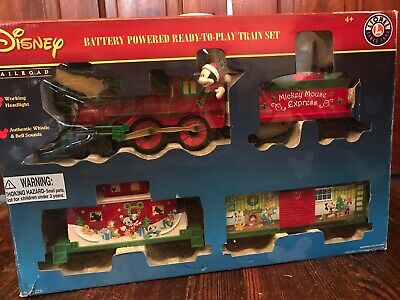 Lionel Mickey Mouse Express Disney Ready to Play Christmas Train Set 7-11773
