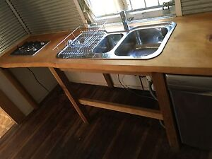 Solid timber kitchen benchtop Deception Bay Caboolture Area Preview