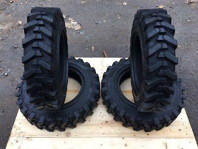 4 Hd 5.70-12 Solidealcamso Sks532 Skid Steer Tires -5.70x12