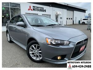 2015 Mitsubishi Lancer SE LTD; Local BC vehicle! Certified!