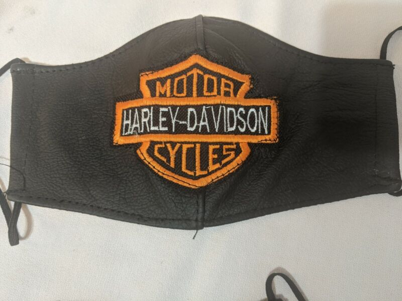 Harley Davidson Leather Mask