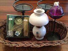 Oil lamps, incense and candlesticks Como South Perth Area Preview