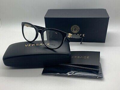 Versace Women BLACK  New Eyeglasses MOD 3247 GB1 53  (Versace Prescription Glasses)