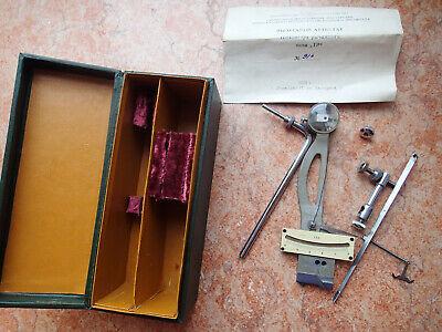 Antique Ussr 1958 Lever Tensometer - Tensile Testing Machine Box Passport