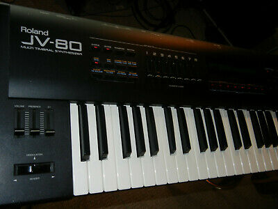 Roland JV-80 61-Key Synthesizer + Case + SR-JV80-09 - Ex Cond. - FREE SHIPPING!