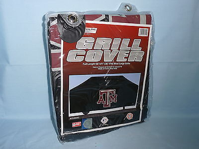 VINYL GRILL COVER Texas A&M Aggies  68x21x35 FITS MOST LARGE GRILLS by Rico  -