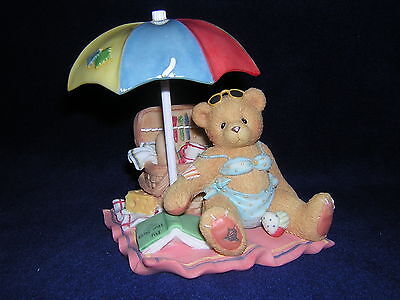 CHERISHED TEDDIES JUDY Bikini Bathing Beauty Picnic Beach Umbrella New