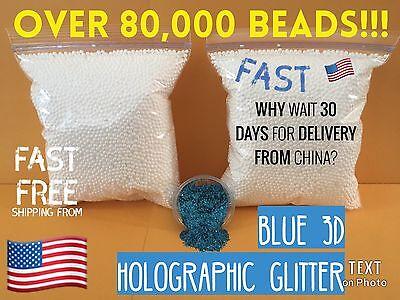 2 Bags Styrofoam Foam Balls for Slime Styrofoam Beads Polystyrene DIY Gift - Styrofoam Beads