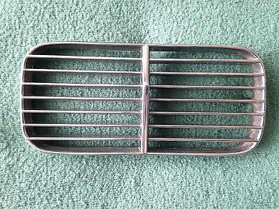 Jaguar Euro Style Fron OEM Chrome sub grill rust-free 1968 69 70 - 76 XJ6 / XJ12