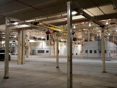Loderail 12 Ton Floor Mounted Crane 18 Runway 18 Bridge 13 Height