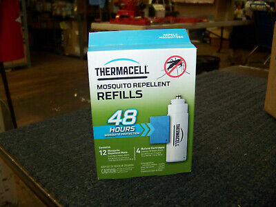 Thermacell Mosquito Repellent Refills 4 Butane Cartridges 12