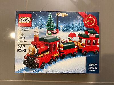 LEGO 40138 Christmas Train Set Limited Edition Holiday 2015 New Ready To Ship