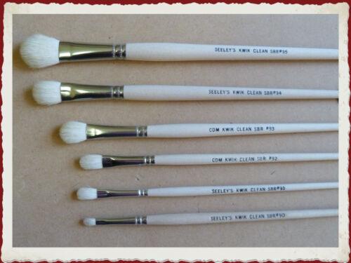 CDM (ex Seeleys) Kwik Clean Brush Kit  - 6 brushes