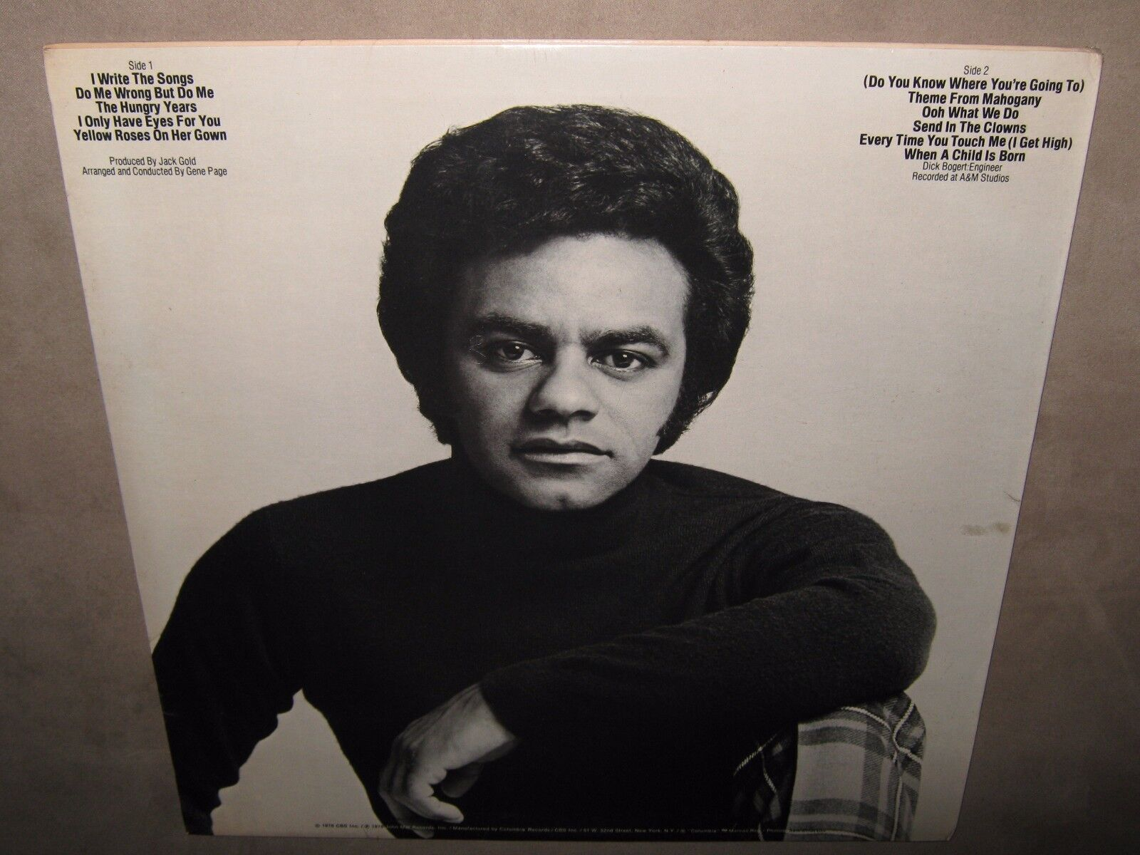 JOHNNY MATHIS I Only Have Eyes For You SEALED SS NEW Vinyl LP 1976 ...
