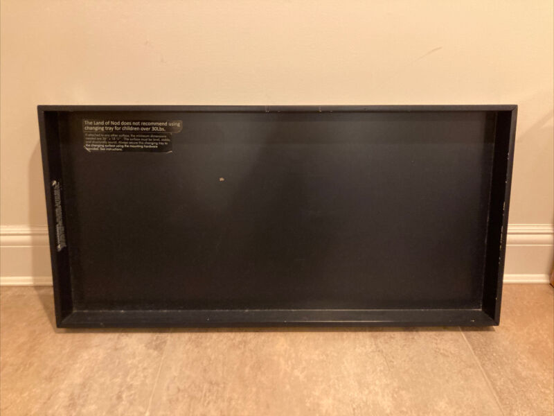 Crate & Barrel The Land of Nod Changing Table Top in NAVY AS-IS
