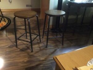 A set of 4. Bar stools never used