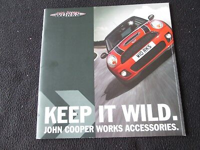 2007 MINI Cooper & S Countryman JCW Accessory Brochure Aero Catalog Wheels BMW