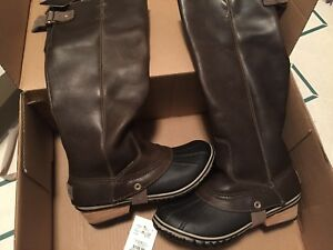 Sorel leather riding boots