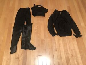 Child Zorro Costume Size 5-7 (No Hat)