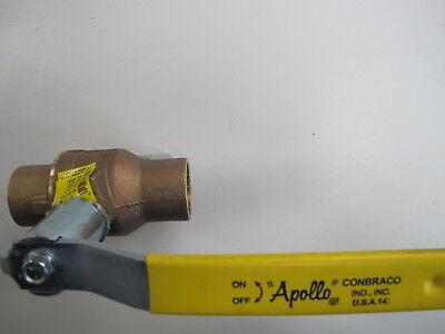Apollo Brass Ball Valve 600 Wog 1 12 70-207-04 Wstem