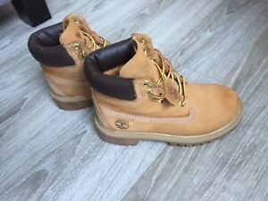 Child size timberlands