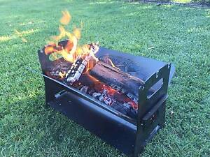 FIRE PIT-CAMPING-4WD-GARDEN-DECK-OUTSIDE-FLAT PACK-QUICK PIT™ Wishart Brisbane South East Preview