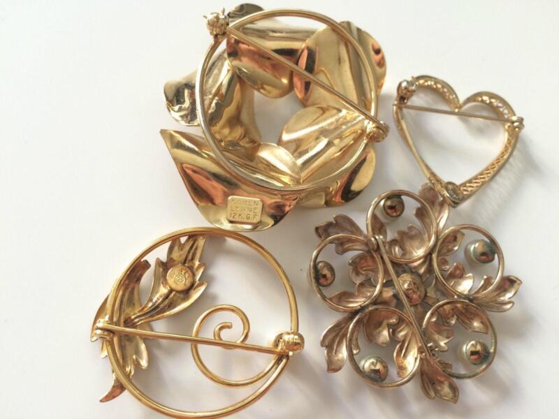 vintage gold jewelry lot ebay