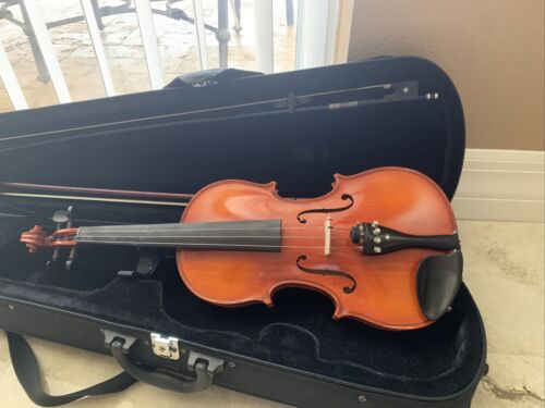 Otto Jos. Klier 55 Violin 4/4 Beautiful Made In Germany With 2 Bows And Case - $260.00