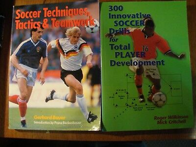 5 BOOKS ON COACHING & IMPROVING SOCCER SKILLS DRILLS TACTICS TECHNIQUES YOUTH