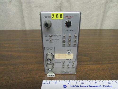Tektronix 7A16P Programmable Oscilloscope Plugin Made In USA