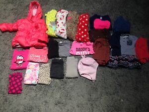 Girls 18 mos fall/winter clothing lot