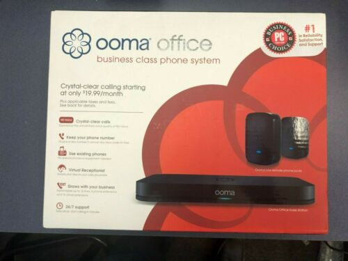 NEW Ooma Office Base with 2 Linx Devices 100-0234-200
