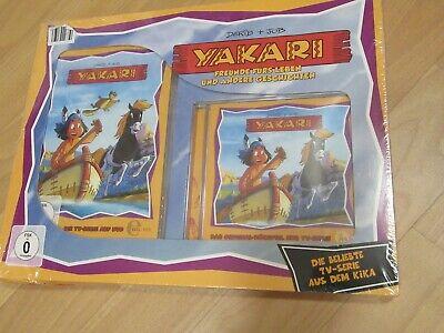 YAKARI Geschenk Set NEU Freunde fürs Leben Cd DVD OVP BOX 2-teilig